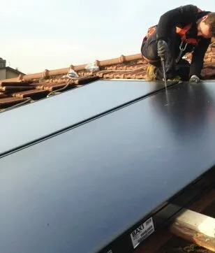 Fratelli Panzeri idraulico Lecco installa pannelli per energie rinnovabili